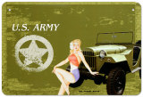 US Army Tin Sign