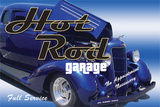 Hot Rod Garage Blechschild