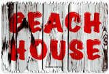 Beach House Cartel de metal