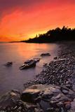 North Shore Sunset Posters par Nathan Lovas