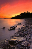 North Shore Sunset Prints by Nathan Lovas