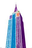 Edificio Empire State Lámina por Ben David