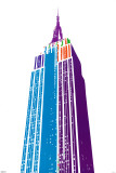 Empire State Building Posters by Ben David