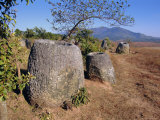 The 2000 Year Old Plain of Jars, Phonsavan, Xieng Khouang (Xieng Khuang) Province, Laos Photographic Print by Alison Wright