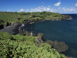 Walanapanapa Beach, Maui, Hawaii, Hawaiian Islands, Pacific, USA Photographic Print by Alison Wright