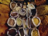 Spices for Sale, India, Asia Photographic Print by Liba Taylor