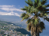 North Coast and Mount Teide, Tenerife, Canary Islands, Spain, Atlantic, Europe Photographic Print by John Miller