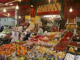 Mercato Della Vucciria, Palermo, Sicily, Italy, Europe Papier Photo par John Miller