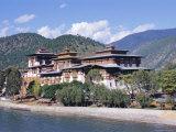 Punakha Dzong (Monastery), Punakha, Bhutan Photographic Print by Alison Wright