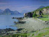 Elgol and the Cuillin Hills, Isle of Skye, Highlands Region, Scotland, UK, Europe Photographic Print by Kathy Collins