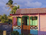 Chattel House, St. Kitts, Caribbean, West Indies Photographic Print by John Miller