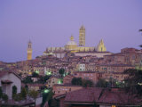 City Skyline, Siena, Tuscany, Italy, Europe Photographic Print by Roy Rainford