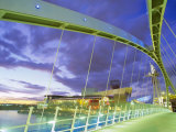 Bridge and Lowry Centre, Manchester, England Photographic Print by Nigel Francis