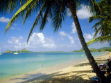 Reduit Beach, St. Lucia, West Indies Photographic Print by John Miller