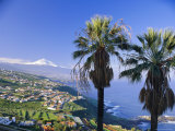 North Coast and Mount Teide, Tenerife, Canary Islands, Spain Photographic Print by John Miller