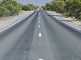 Long Straight Road, Hume Highway, Victoria, Australia Photographic Print by Mark Mawson