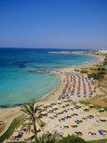 Ayia Napa Beach, Cyprus, Europe Photographic Print by John Miller