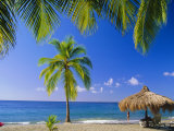 Anse Chastenet Beach, St. Lucia, Caribbean, West Indies Photographic Print by John Miller