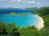 Trunk Bay, St. John, U.S. Virgin Islands, Caribbean, West Indies, Central America Photographic Print by Fred Friberg