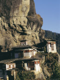 Taktsang Monastery, Known as the Tiger's Lair, Paro, Bhutan Photographic Print by Alison Wright