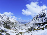 Nant Ffrancon Pass, Ogwen Valley, Snowdonia, Gwynned, Wales, UK, Europe Photographic Print by Raj Kamal