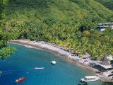 The Beach at Anse Chastenet, St. Lucia, Caribbean, West Indies, Central America Photographic Print by John Miller