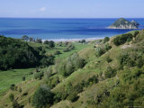 Beach and Coast, Tokomaru Bay, Gisborne, East Coast, North Island, New Zealand, Pacific Photographic Print by D H Webster