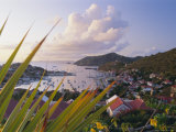 Gustavia, St. Barthelemy, Caribbean, West Indies, Central America Photographic Print by Fred Friberg
