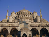 Blue Mosque (Sultan Ahmet), Istanbul, Turkey, Eurasia Photographic Print by Michael Short