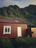 Summer Retreat, Taken at 2 A.M., Lofoten Islands, Nordland, Arctic Norway, Scandinavia, Europe Photographic Print by Dominic Webster