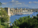Vieux Port, Marseille, Bouches Du Rhone, Provence, France Photographic Print by John Miller
