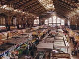 The Central Market, Valencia City, Valencia, Spain, Europe Photographic Print by Rob Cousins