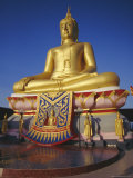 Giant Golden Buddha, Koh Samui, Thailand, Asia Photographic Print by Dominic Webster