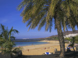 The Beach at Playa Blanca, Lanzarote, Canary Islands, Atlantic, Spain, Europe Photographic Print by John Miller