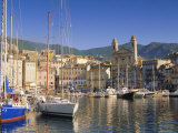Bastia Harbour, Corsica, France, Europe Photographic Print by John Miller