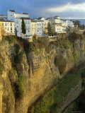 Houses Perched on Cliffs, Ronda, Andalucia, Spain Photographic Print by Rob Cousins