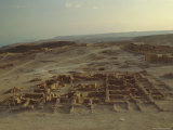 Archaeological Site, Masada, Israel, Middle East Photographic Print by Fred Friberg