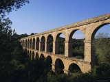 Roman Aquaduct, Tarragona, Costa Dorada, Catalonia, Spain Photographic Print by John Miller