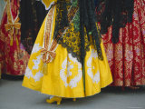 Traditional Dresses, Las Fallas Fiesta, Valencia, Photographic Print