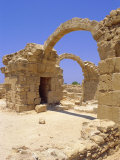 Byzantine Fortress, Paphos, Cyprus, Europe Photographic Print by John Miller