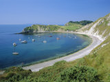 Lulworth Cove, Dorset, England Photographic Print by Nigel Francis