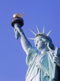 Close-up of the Statue of Liberty in New York, USA Photographic Print by Nigel Francis