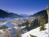 Davos, Graubunden Region, Switzerland, Europe Photographic Print by John Miller