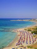 Ayia Napa Beach, Cyprus Photographic Print by John Miller