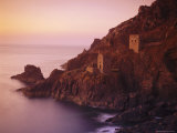 Botallack Tin Mine on the Coast, Cornwall, England, UK Photographic Print by John Miller