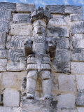Codz Poop or Palace of Masks, Kabah Puuc Mayan Site, Near Uxmal, Yucatan, Mexico, Central America Photographic Print by Robert Harding