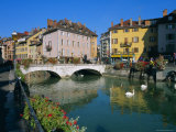 Annecy, Rhone-Alpes, France, Europe Photographic Print by John Miller