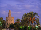 Torre Del Oro, Seville, Andalucia, Spain Photographic Print by John Miller
