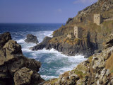 Botallack Tin Mines, Cornwall, England Photographic Print by John Miller