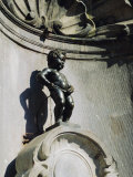 Manneken Pis Statue, Brussels, Belgium Photographic Print by Nigel Francis
